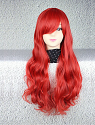 Cosplay Wigs Cosplay Cosplay Medium Curly Anime Cosplay Wigs 75 CM Heat Resistant Fiber