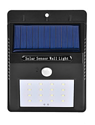 cheap -1PCS Outdoor Solar Powered 16 SMD LEDs Motion Sensor Wall light Garden Lamp