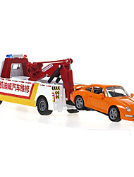 cheap -Toy Cars Die-Cast Vehicles Toys Construction Vehicle Helicopter Toys Toys Metal Alloy Plastic Metal Pieces Children's Boys' Gift