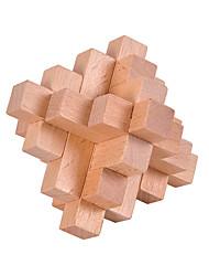 Недорогие -Деревянные пазлы Головоломки Головоломка Кунмина Тест IQ деревянный Универсальные Мальчики Девочки Игрушки Подарок