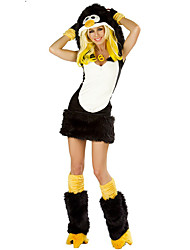 Animal Cosplay Costumes Female Halloween Festival/Holiday Halloween Costumes Black and White Others