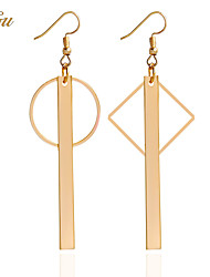 cheap -Women's Drop Earrings / Pendant / Earrings - Personalized, Basic, Simple Style Gold For Christmas Gifts / Wedding / Party / Special Occasion / Anniversary / Birthday / Housewarming / Congratulations