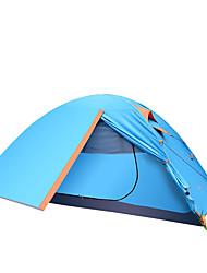 TANXIANZHE® 3-4 Personen Zelt Doppel Camping Zelt Einzimmer Falt-Zelt Feuchtigkeitsundurchlässig Wasserdicht Regendicht Atmungsaktivität