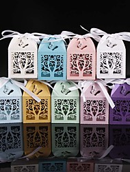 cheap -50pcs Lovely Tree Wedding Favor Box Candy Box Party Supplies