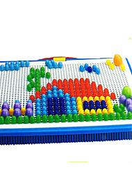 abordables -Blocs de Construction Kits de Mosaïque 1pcs Carré Champignon Enfant Jouet Cadeau