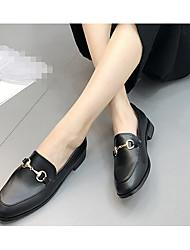 cheap -Women's Boots T-Strap Rubber Summer Casual Low Heel Black Flat