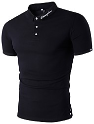 cheap -Men's Weekend Chinoiserie Cotton Polo - Solid