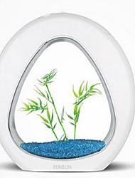preiswerte -Miniaquarium Verzierungen Nicht - giftig & geschmacklos Sterilisiert Künstlich Mit Schalter(n) Einstellbar Nachts leuchtend Ohne Lärm