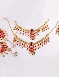cheap -Belly Dance Headpieces Women's Performance Metal Necklace / Headwear / Bracelets