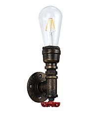 AC 100-240 4 E27 Rustique Traditionnel/Classique Laiton Antique Fonctionnalité for LED Ampoule incluse,Eclairage d'ambianceApplique