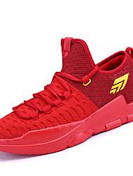 Männer athletische Schuhe Frühling Sommer Komfort Tüll Outdoor athletischen Casual Lace-up-Basketball