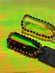 1pcs nouvelle mode belle ongle art arc-en-ligne autocollant belle couleur ongle art diy beauté décoration design 6