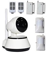 IP-Kamera - Day Night/Bewegungserkennung/Dual Stream/Remote Access/IR-cut/Wi-Fi Protected Setup/Plug-and-Play - Innen
