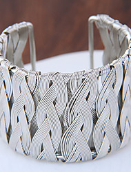 Women's Cuff Bracelet Fashion Punk Alloy Silver Gold Jewelry For Party 1pc