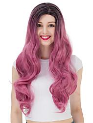 abordables -Pelucas Lolita Amaloli Gradiente de Color Peluca de Lolita  90-100 CM Pelucas de Cosplay Pelucas Para
