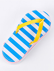 cheap -Slippers Stripe Design PU Leather Stationery Bags
