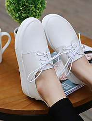 Women's Boots Light Up Shoes Rubber Summer Casual White Flat