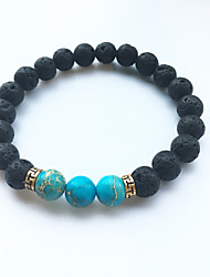 cheap -Volcano Stone Stone Turquoise Emperor Fashion Beaded Bracelet