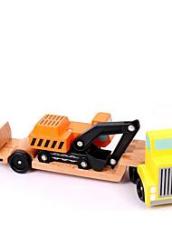 preiswerte -Bausteine Bildungsspielsachen Spielzeugautos Spielzeuge LKW Kinder Stücke