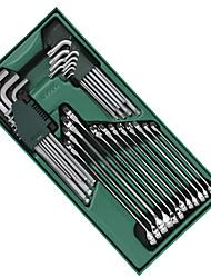 SATA työkalusarja 30 kappaletta dual avaimella kuusikulmainen jakoavaimen 09906 19 mm