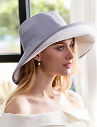 Cotone Lino Copricapo-Matrimonio Occasioni speciali Casual Formale Cappelli 1 pezzo