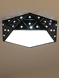 cheap -Flush Mount   Modern/Contemporary for LED Metal Living Room Bedroom Dining Room Kitchen Kids Room
