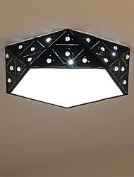 preiswerte -Modern/Zeitgenössisch LED Unterputz Raumbeleuchtung Für Wohnzimmer Schlafzimmer Küche Esszimmer Kinderzimmer Wärm Weiß Weiß 1440lm