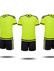 Men's Soccer Jersey + Shorts Breathable Summer Classic Polyester Football/Soccer