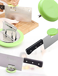 1Pcs Kitchen Knife Cap Stainless Steel Cut Fish Chicken Bones Chopping Booster Knife Holder For Meat Cleaver Cooking Accessories