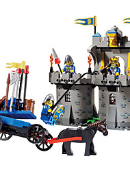 cheap -ENLIGHTEN Building Blocks Educational Toy Warrior Architecture Kid's Toy Gift