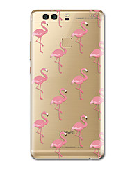 For Case Cover Ultra Thin Pattern Back Cover Case Flamingo Soft TPU for Huawei P10 Plus P10 P9  P9 Lite