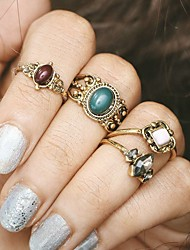 Women's Midi Rings Unique Design Costume Alloy Jewelry For Party Halloween Daily Casual