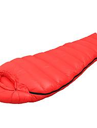 Недорогие -Спальный мешок Кокон Односпальный комплект (Ш 150 x Д 200 см) -18 Утиный пухX85 Походы Путешествия На открытом воздухе В помещении
