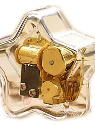 Недорогие -музыкальная шкатулка Игрушки В форме сердца Металл Куски Детские Девочки День Святого Валентина Подарок