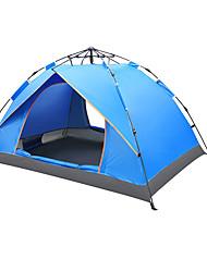 3-4 Personen Zelt Einzeln Camping Zelt Einzimmer Automatisches Zelt Feuchtigkeitsundurchlässig Wasserdicht Regendicht Atmungsaktivität für