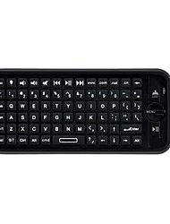 Air Mouse Keyboard Backlit Flying Squirrels KP16BL Bluetooth 2.4GHz Wireless for Android TV Box and PC with Touchpad
