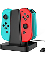 4 in 1 Charging Stand Dock Station NS with LED indication for Switch Joy-Con