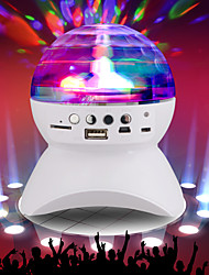 economico -Luci LED da palcoscenico Magic Ball LED Light Party DJ Disco Club Mostra Lumiere LED Crystal Light Proiettore laser 9W - - -Bluetooth 1
