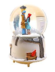 Недорогие -музыкальная шкатулка Игрушки Сфера Резина Стекло Куски Универсальные Подарок