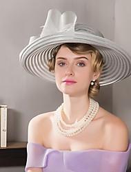 economico -copricapo di tulle cappelli di basketwork festa nuziale elegante stile femminile