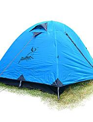 JUNGLEBOA® 2 persone Tenda Igloo da spiaggia Doppio Tenda da campeggio Una camera Tenda ripiegabile Ompermeabile Portatile Anti-pioggia