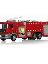 Недорогие -Машинки с инерционным механизмом Пожарная машина Игрушки Игрушки Металл Куски Универсальные Подарок