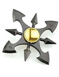 cheap -Fidget Spinner / Hand Spinner for Killing Time / Stress and Anxiety Relief / Focus Toy Metal Ninja Pieces Gift