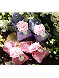 cheap -Round Nonwoven Fabric Favor Holder with Pattern Favor Boxes / Favor Bags / Gift Boxes - 10