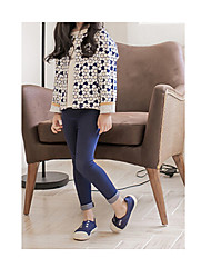 abordables -Pantalones Chica Moda Verano Negro Azul Marino