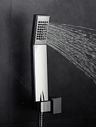 economico -Moderno Doccia a pioggia Cromo caratteristica - Effetto pioggia, Soffione doccia
