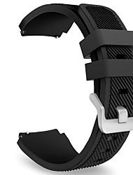 Недорогие -Ремешок для часов для Gear S3 Frontier Gear S3 Classic Samsung Galaxy Спортивный ремешок Фторэластомер Повязка на запястье