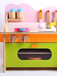 economico -Imposta cucina giocattolo Giocattoli Legno Da ragazza Per bambini Regalo 1pcs