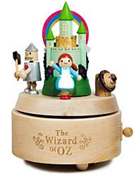 cheap -Jeancard Music Box Carriage Ferris Wheel Classic Kid's Adults Kids Gift Unisex