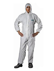 cheap -Sata Anti-static Clothing XXL Breathable Film Dust-proof And Anti-static Paint Chemical Protective Clothing Overalls With Cap Garment /1